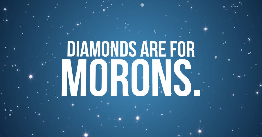 diamonds are for morons by rhune kincaid